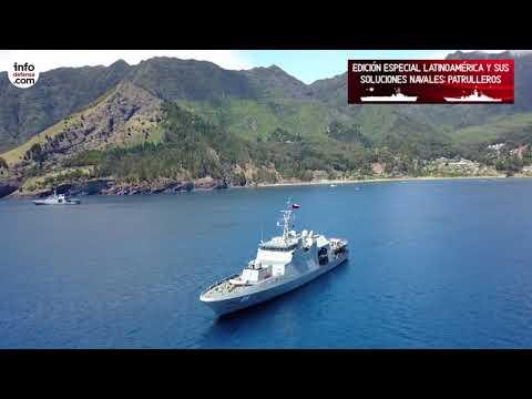 Esta es la flota de patrulleros oceánicos de la Armada de Chile