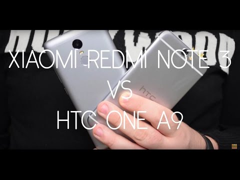 Foto Xiaomi Redmi Note 3 vs HTC One A9