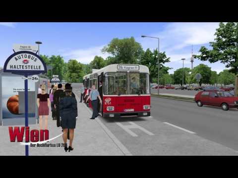 OMSI der Omnibussimulator: Wien - Der Hochflurbus LU 200
