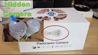 Light bulb Camera Review-Alfawise Panoramic camera
