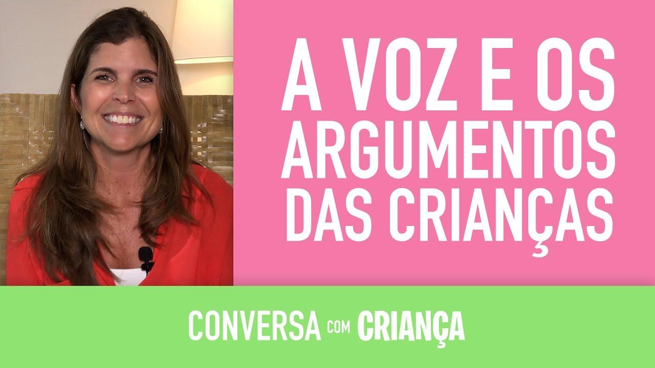 A voz e os argumentos das crianças | Conversa com Criança