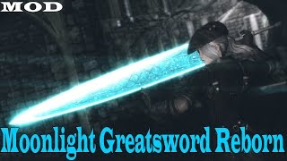 The Elder Scrolls V Skyrim | Mod Showcase | Lorkhan Moonlight Greatsword Reborn - (ALL VERSIONS)