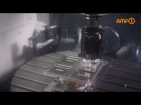 Automated production with AMF gripper technology - zero-point clamping technology included