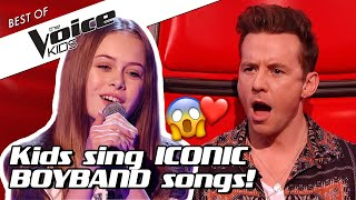 Top 10 | These BOYBAND COVERS will melt your heart in The Voice Kids 🥰
