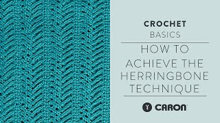 Herringbone Technique Tutorial With Marly Bird | Vertical Herringbone Crochet Blanket Pattern