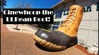Cinewhoop the LL Bean Boot! ???? Diatone Taycan with GoPro Hero7