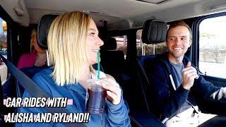 car rides with alisha and ryland!!      *and taylor lol