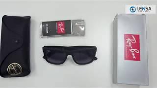 9cc90160af1f1 Unboxing ochelari de soare unisex Ray-Ban Justin RB4165 601 8G – LENSA.