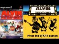 Alvin And The Chipmunks 34 Ps2 Longplay
