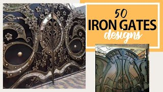 Top 50 Modern And Classic IRON GATES For Your Home