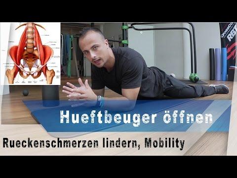 Schmerzen im unteren Rücken und Lendenrückenbeschwerden