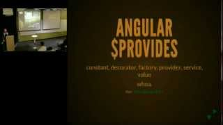 AngularJS MTV Meetup: $provide Methods / Building Up with AngularJS (2012/11/13)