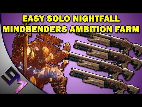 Nightfall Solo - The Hollowed Lair - Walkthrough - Strike