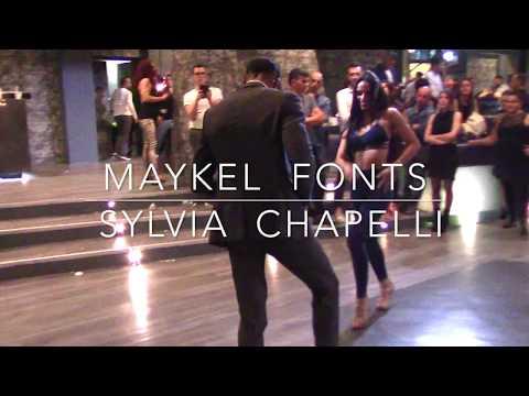 MAYKEL FONTS & SYLVIA CHAPELLI [New Video] Salsa Dancing 2/3 @ Poco Loco Latino 2017 ••• Perugia