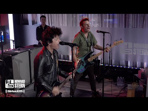 "Download Green Day ""American Idiot"" Live on the Howard Stern Show Mp4 HD Video and MP3"