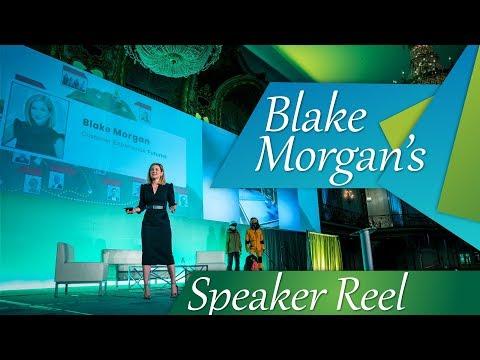Blake Morgan - Keynote Speaker - Customer Experience - Speaker Reel