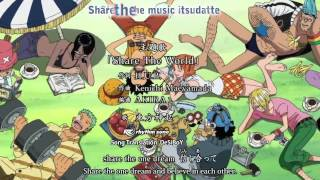 One Piece OP 11  『 Share The World 』subbed