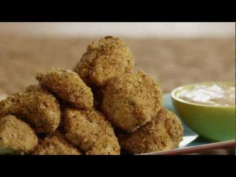How to Make Baked Herbed Chicken Nuggets   Chicken Nugget Recipe   Allrecipes.com