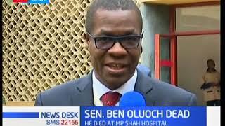 The profile of Senator Ben Oluoch Okello