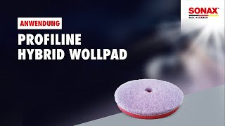 Anwendungsvideo SONAX HybridWollPad 143 DA