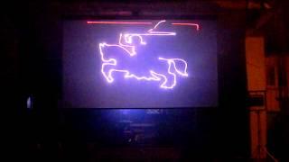 preview picture of video 'Brańsk - Pokaz laserowy - 17 czerwiec - Brańskie Dni Kultury'