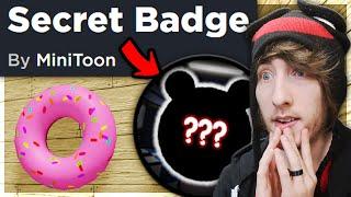 PIGGY SECRET BADGE FOUND!! (New Maple Donut Skin)
