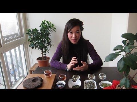 Chinesischer Tee - grün weiß oolong rot schwarz