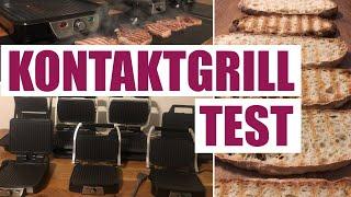 Kontaktgrill Test - 7 Geräte im Vergleich (Ciabatta, Panini, Kartoffeln, Steak)