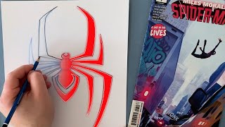 You Can Draw the Miles Morales Symbol! | Marvel DRAW!