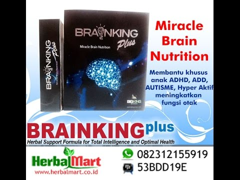 Video 082312155919 Khasiat Brainking Plus Obat Herbal Kecerdasan Otak Terbaik