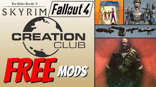 Creation Club FREE MODS Series April 29th - May 12th