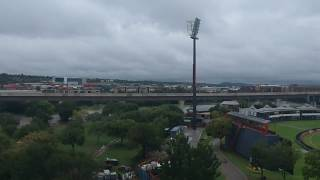 Drone footage of Centurion/Tshwane flooding