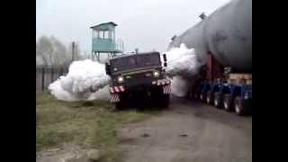 Soviet Union truck MAZ-537 | МАЗ-537 дал газу