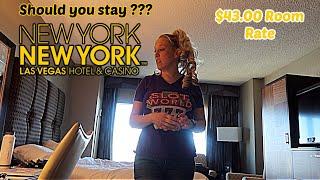 New York New York Las Vegas Room Review