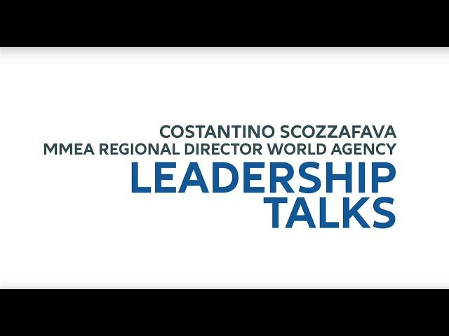 Leadership Talks Costantino Scozzafava