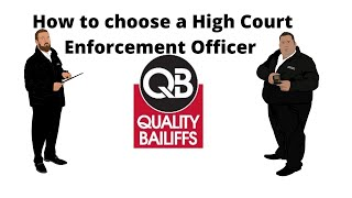 How to choose a High Court Enforcement Officer   Professional HCEO    Quality Bailiffs