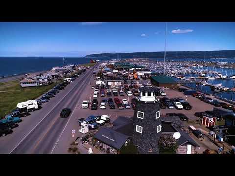 Otter Beach Lodge Exterior Video