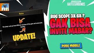 UDAH DI FIX! Bug Scope, Rename Card, Gak bisa Mabar PUBG Mobile 0.8.0