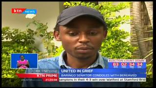 Baringo Senator Gideon Moi condoles with family of the late James Chepsongol