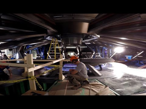 Star Trek: Discovery - This Time-Lapse Video Reveals How Star Trek: Discovery's U.S.S. Shenzhou W…