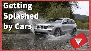Getting Splashed By A Car Compilation (TOP 10 VIDEOS)