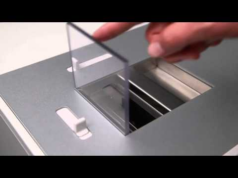 Video of the IDEAL 0101 HDP Hard Drive Punch Shredder