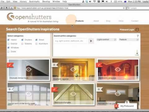 OpenShutters Web Intro