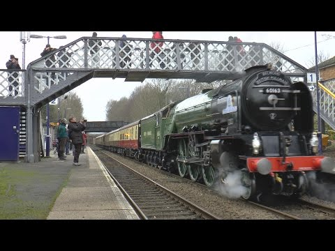 LNER 60163 'Tornado' with The Belmond British Pullman at Sha…