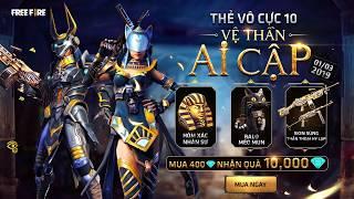 PHIM NGẮN: Thẻ Vô Cực 10 - Vệ Thần Ai Cập | Garena Free Fire