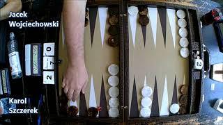 III Mistrzostwa Polski w Backgammona - Consolation 1/4 - Karol Szczerek vs Jacek Wojciechowski