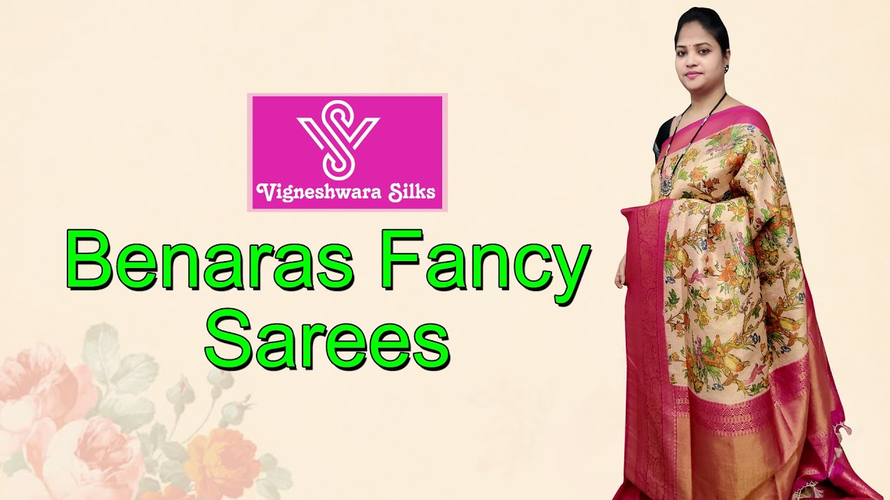 "<p style=""color: red"">Video : </p>Banarasi soft sarees  || Vigneshwara Silks || 2020-11-29"