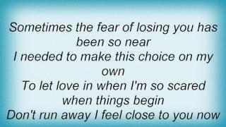 Air Supply - Taking The Chance Lyrics