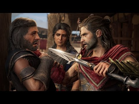 Assassin's Creed Odyssey - LEGACY OF THE FIRST BLADE Ep. 2 All Cutscenes (Game Movie) 1080p HD