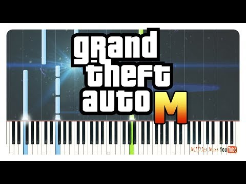 Grand Theft Auto - Theme Songs on Piano (GTA 3, Vice City, San Andreas, 4, 5)